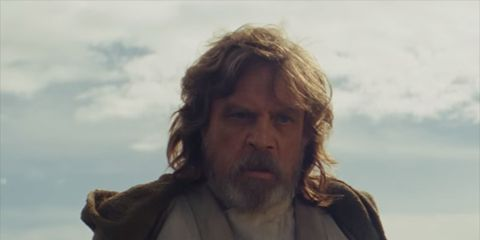 Obi-wan kenobi, Human, Fictional character, Luke skywalker, Beard, Facial hair,