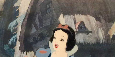 Painting, Cartoon, Illustration, Art, Animated cartoon, Visual arts, Watercolor paint, Modern art, Black hair, Drawing,