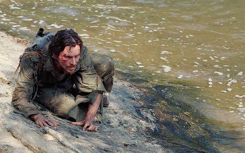 fluid, liquid, mud, boot, kneeling,
