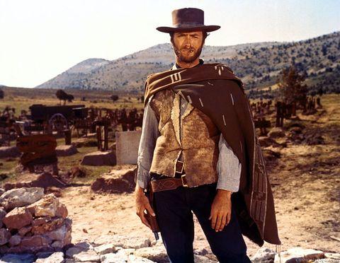 Hat, Landscape, Jacket, Sun hat, Hill, Khaki, Rural area, Mountain range, Cowboy hat, Beige,