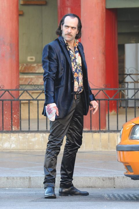 Clothing, Trousers, Collar, Shoe, Outerwear, Coat, Jacket, Style, Street fashion, Blazer,