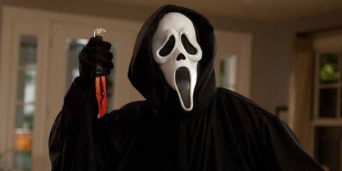 Mask, Ghost, Masque, Costume, Outerwear, Fictional character, Cloak,