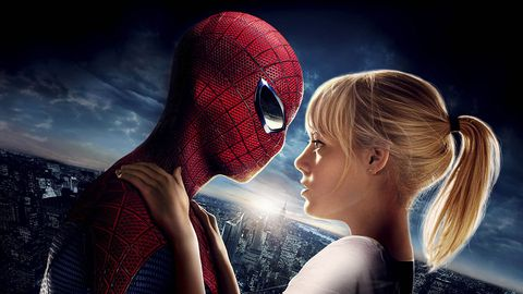 Spider-man, Fictional character, Animation, Carmine, Animated cartoon, Superhero, Art, Cg artwork, Fiction, Illustration,
