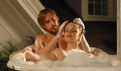 Photograph, Interaction, Chest, Love, Headpiece, Hair accessory, Romance, Sculpture, Bride, Barechested,