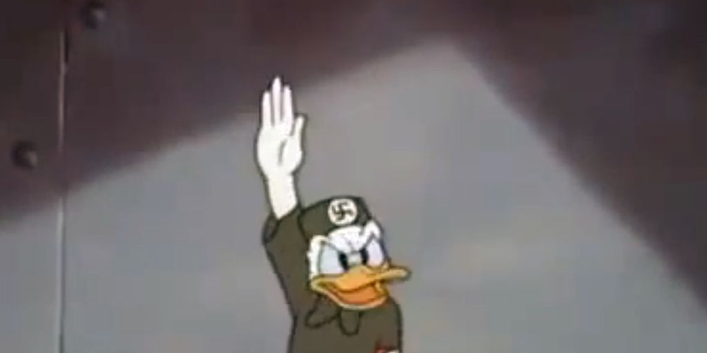 El Día Que El Pato Donald Fue Nazi
