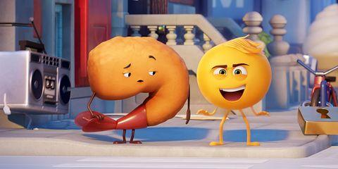 Animated cartoon, Cartoon, Animation, Yellow, Organism, Fun, Emoticon, Smile, Media, Illustration,