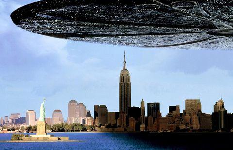 City, Skyline, Cityscape, Skyscraper, Metropolitan area, Human settlement, Landmark, Urban area, Daytime, Tower block,