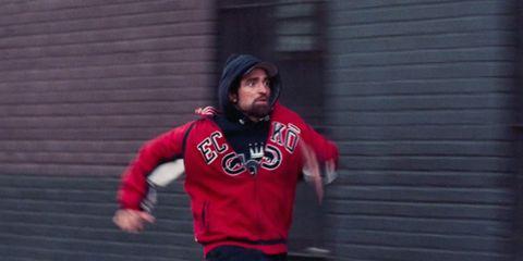 Hoodie, Red, Outerwear, Clothing, Jacket, Shoulder, Fun, Standing, Snapshot, T-shirt,