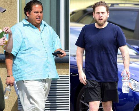 gordo alrededor del medio
