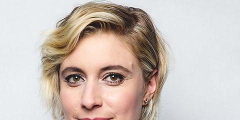 Hair, Face, Eyebrow, Hairstyle, Blond, Lip, Chin, Skin, Beauty, Head,