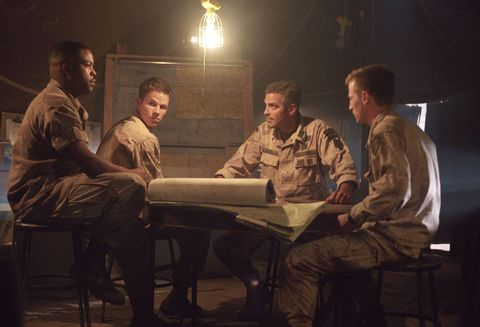Leg, Sitting, Light fixture, Conversation, Military uniform, Marines, Military person, Job, Soldier, Military,
