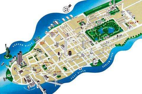 Line, World, Map, Plan,