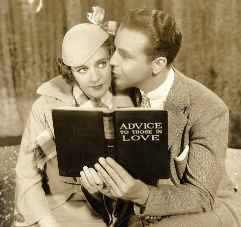 Interaction, Love, Romance, Vintage clothing, Book, Gesture, Publication, Book cover, Kiss, Reading,