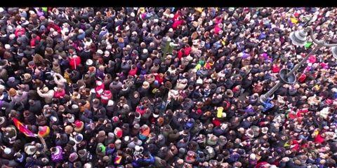 People, Social group, Crowd, Colorfulness, Pink, Magenta, Purple, Violet, Carmine, World,