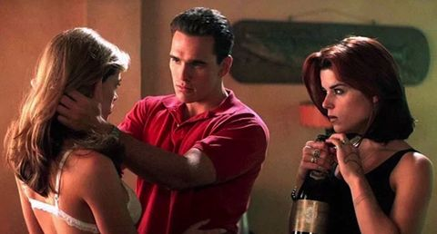 neve campbell, matt dillon y denise richards   juegos salvajes