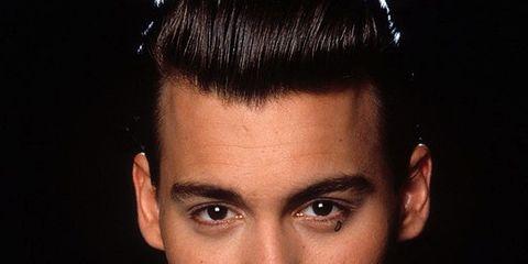 Hair, Face, Eyebrow, Hairstyle, Forehead, Quiff, Chin, Cool, Head, Black hair,