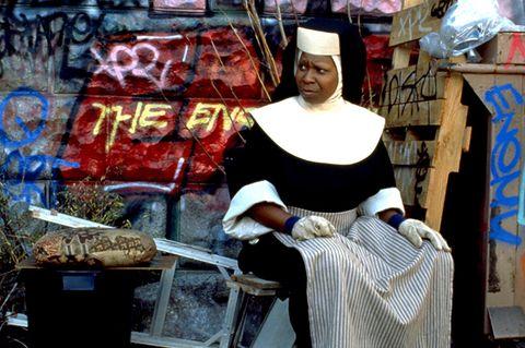 Shopkeeper, Selling, Chair, City, Street, Art,
