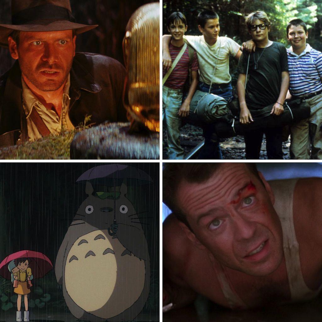 Las 50 mejores películas de los 80 según IMDb