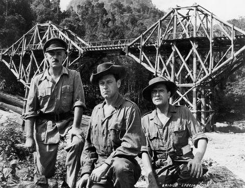 Hat, Bridge, Sun hat, Truss bridge, Fedora, Cowboy hat, Nonbuilding structure, Cantilever bridge, Crew,