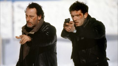 Jacket, Textile, Gesture, Leather, Movie, Fictional character,