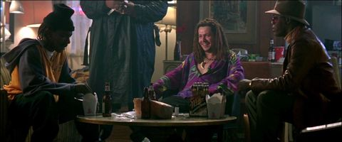 Conversation, Room, Scene, Sitting, Drink, Screenshot, Black hair,