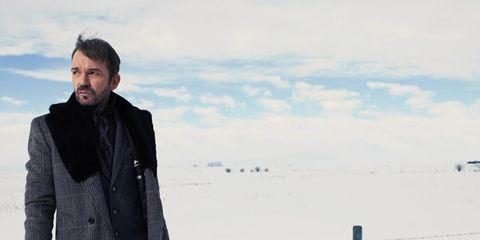 Winter, Collar, Coat, Freezing, Jacket, Overcoat, Blazer, Street fashion, Snow, Bag,
