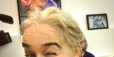 Face, Hair, Eyebrow, Facial expression, Nose, Forehead, Head, Selfie, Skin, Blond,
