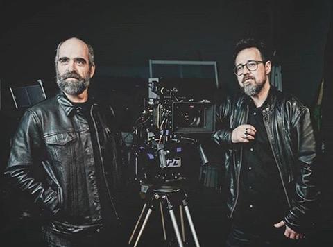 Camera operator, Photography, Cinematographer, Jacket, Facial hair, Leather,