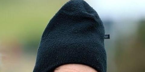 Headgear, Cap, Beanie, Knit cap, Smile, Hat,