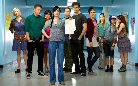 series para adolescentes awkward