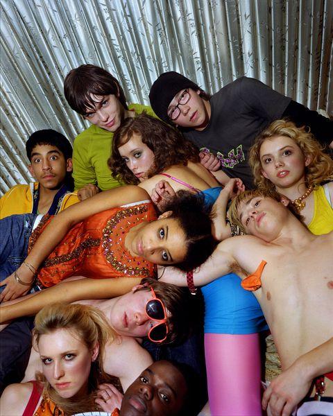 series para adolescentes skins