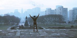 Rocky en lo alto