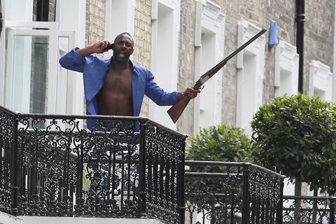 Shotgun, Iron, Air gun, Fence, Gun barrel,