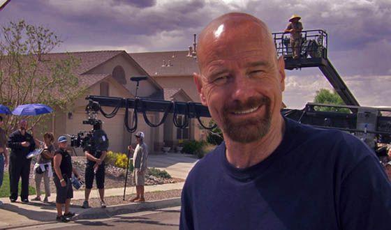 Las fotos del rodaje de 'Breaking Bad' que no habías visto
