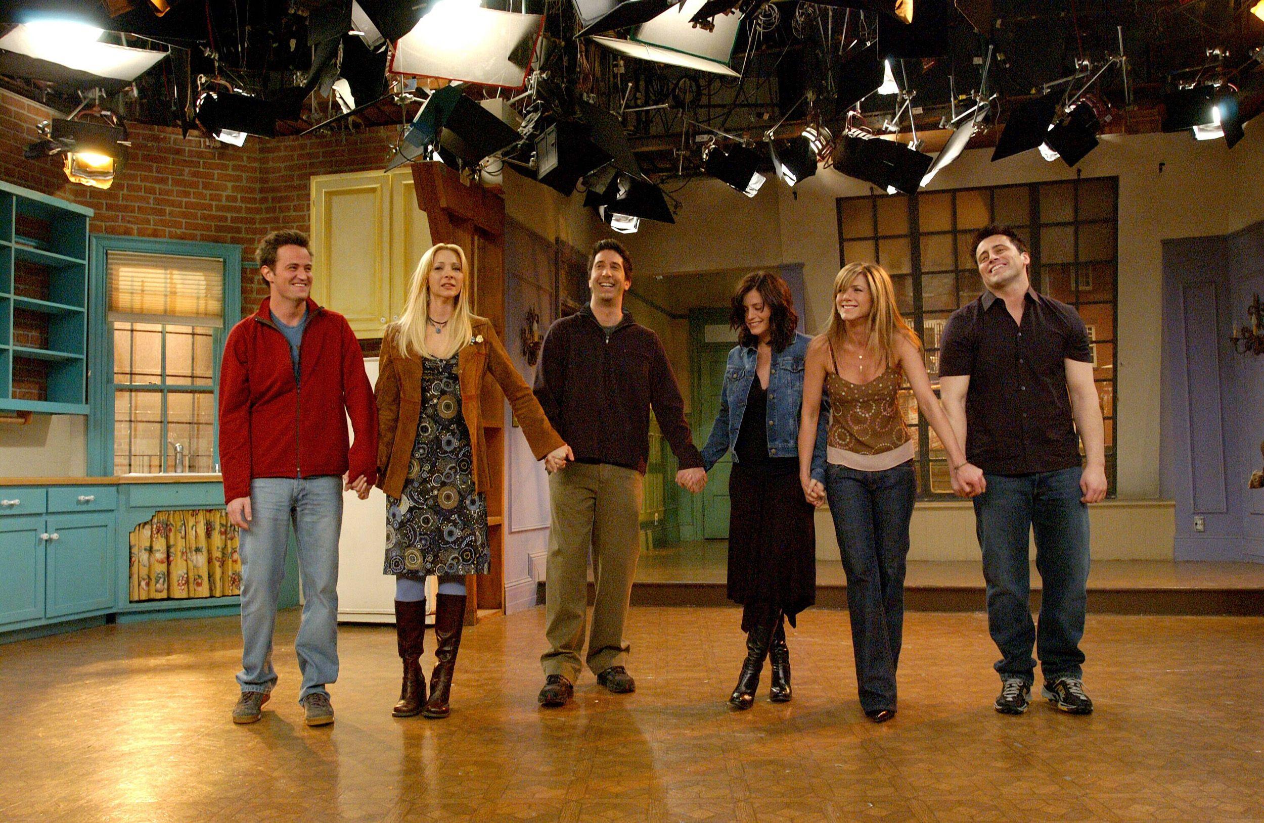 Las fotos del rodaje de \'Friends\' que no habías visto