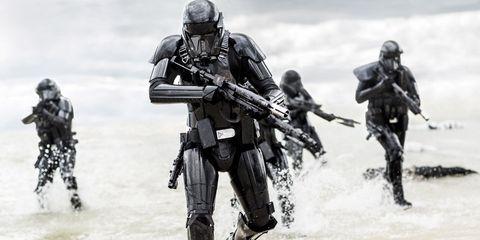 Helmet, Soldier, Marines, Ballistic vest, Glove, Personal protective equipment, Cargo pants, Boot, Machine gun, Sports gear,