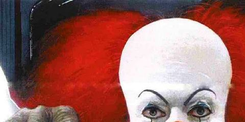 Mouth, Forehead, Jaw, Art, Clown, Painting, Artwork, Illustration, Drawing, Humour,