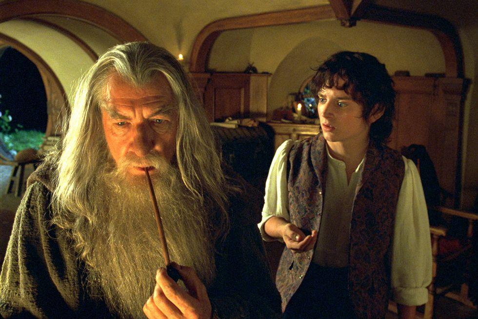 Gandalf y Frodo en plan metafísicos