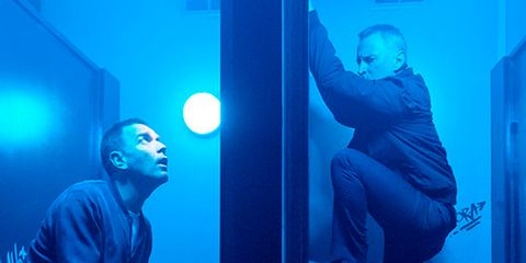 Blue, Cobalt blue, Electric blue, Organism, Room, Photography,