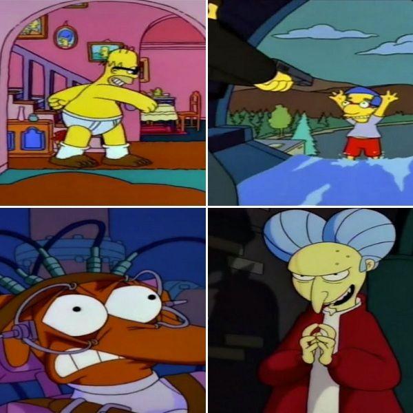 Las referencias cinéfilas de 'Los Simpson' que quizás no pillaste