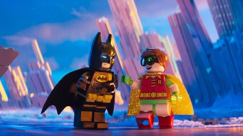 Fictional character, Animation, Toy, Batman, Cartoon, Action figure, Lego, Fiction, Animated cartoon, Figurine,