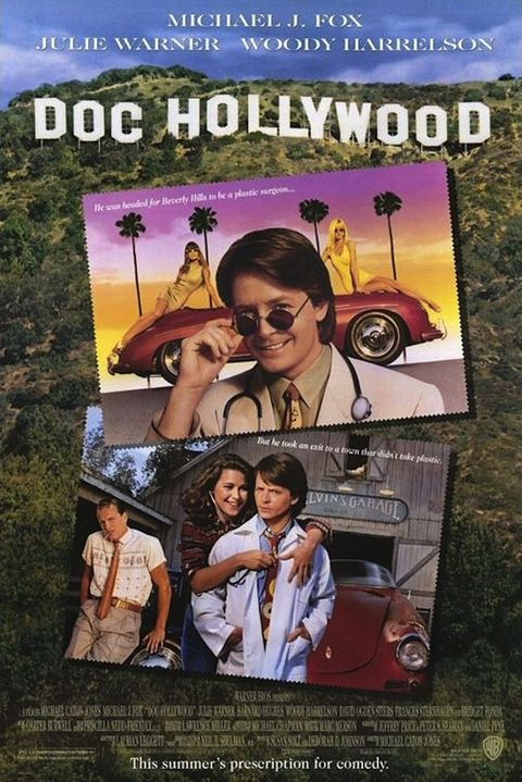 'doc hollywood' michael caton jones, 1991