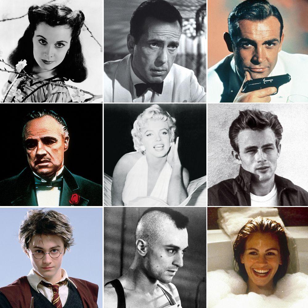 Los 100 personajes esenciales de la historia del cine