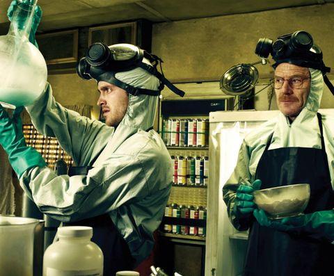Hat, Shelf, Serveware, Bottle, Shelving, Service, Safety glove, Glove, Pottery, Science,