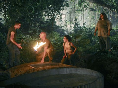 Human, People, Human body, People in nature, Barechested, Temple, Fire, Jungle, Abdomen, Heat,