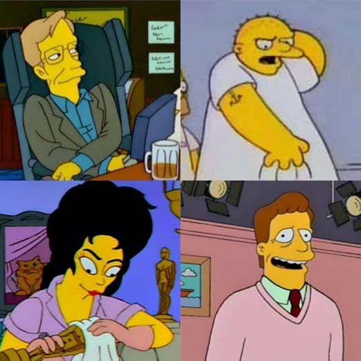 'Los Simpsons': 25 años en 25 cameos
