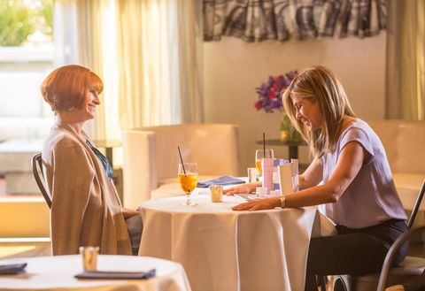 Restaurant, Conversation, Table, Brunch, Room, Event, Textile, Meal, Interior design, Tableware,