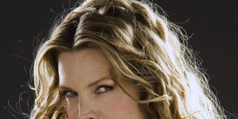 Nose, Lip, Hairstyle, Eyebrow, Beauty, Eyelash, Step cutting, Blond, Jewellery, Layered hair,