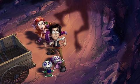 Cartoon, Adventure game, Fictional character, Illustration, Screenshot, Games, Cg artwork,