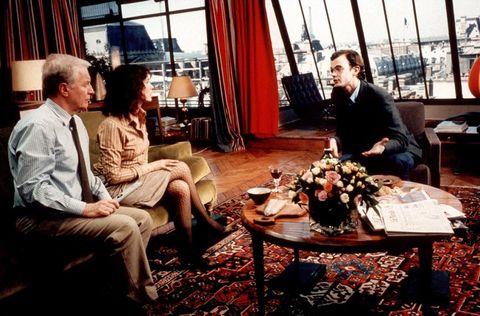 Conversation, Room, Interior design, Restaurant, Meal, Sitting,